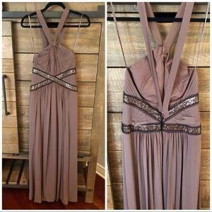 BCBG maxi gown size 2